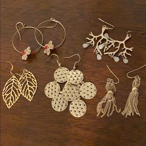 Lot of boutique earrings